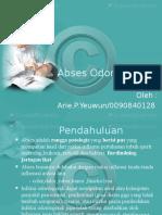 abses odontogenik