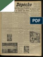 La Dépêche du 5 mai 1936