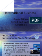 Chapter 13 - Export and Import Strategies (L)