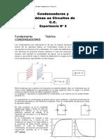 ElectronicaCondensadores y Circuitos
