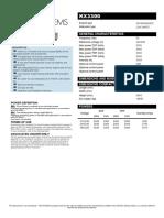 KX3300_DataSheet