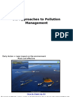 topic 5 3 approaches to pollution management 2016