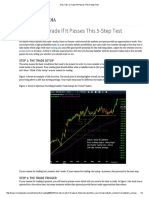 Only Take a Trade if It Passes This 5-Step Test