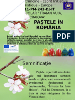 Pastele in Romania