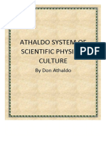 Athaldo System of Scientific Physical Culture by Don Athaldo