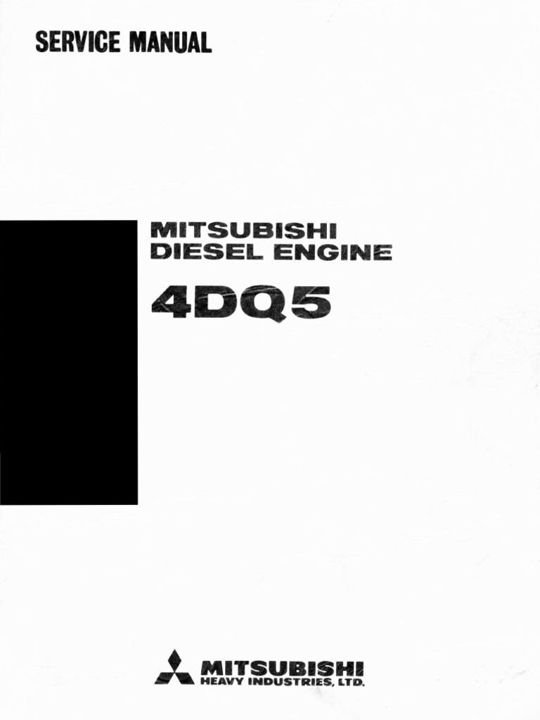 Mitsubishi 4dq5 Piston Cylinder Engine
