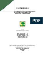Preplanning Penkes Fix