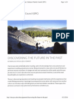 discovering the future in the past