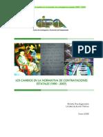 DT08 Normativa Contrataciones Estatales