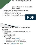 nomenclature acids bases