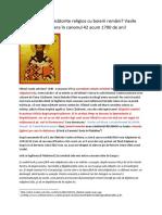 Țigăncile Sclave Căsătorite Religios Cu Boierii Români