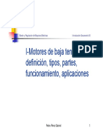 Mando Regulacion Ntroduccion Motores Tipos Func Aplic