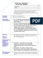 lesson plan template 4  placemat