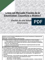 Crisis en el Mercado de Precios de la Electricidad