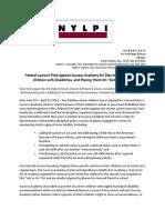 Federal Lawsuit vs Success 4.29.16 Press Release
