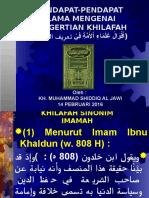 01-PENGERTIAN KHILAFAH