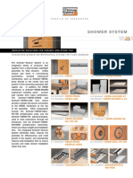 Shower System Data Sheet