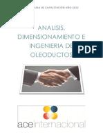 Análisis, Dimensionamiento e Ingeniería de Oleoductos
