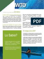 Turismo y Cambio Climatic o
