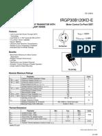 datasheet IRGP30B120KD-E