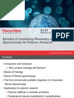 Benefits of Combining Rheometry With Raman 2016
