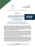 Manifestation Francophone - Liberté de Presse - 2016 05 03