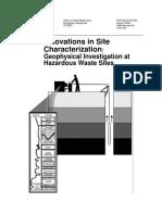 Geophysical Investigation EPA