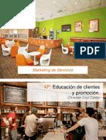 5. 4P Educación de Clientes y Promoción
