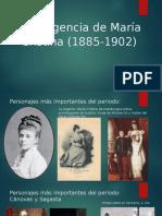 Presentación Cap. 12 Regencia Mª Cristina