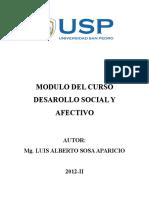 Modulo de Desarrollo Socioafectivo