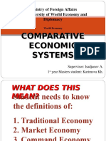 1-World Economic Systems