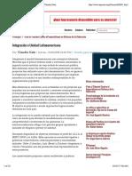 Integración o Unidad Latinoamericana - Por- Claudio Katz