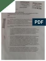 Carta notarial de Eduardo Gallardo