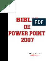 Biblia of Power Point 2007