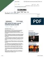 ONU- apenas 2% detêm mais da metade da riqueza mundial - Jornal O Globo