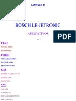 Esquema Elétrico Le-Jetronic