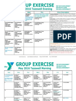 Tazewell May 2016 Group Exercise