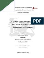 VALIDAÇÃO DE REQUISITOS NO CONTEXTO DA ENGENHARIA DE SOFTWARE