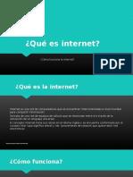 Significado de La Internet