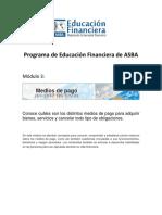 Educacion Financiera Asba Medios de Pago