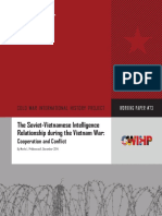 CWIHP Working Paper 73 Soviet-Vietnamese Intelligence Relationship Vietnam War