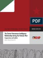 CWIHP Working Paper 73 Soviet-Vietnamese Intelligence Relationship Vietnam War