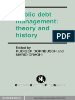 Rudiger Dornbusch, Mario Draghi-Public Debt Management_ Theory and History-Cambridge University Press (1990)