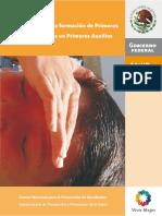 6.Manual Para La Formacixn de Primeros Respondientes en Primeros Auxilios