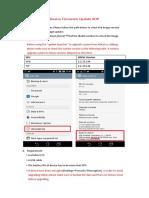 TF103C Device Firmware Update to Lollipop SOP