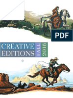 Creative Editions Fall 2016 Catalog