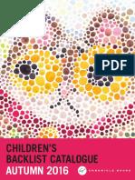 Chronicle Books UK Autumn 2016 Children's Backlist Catalog