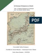 """Recensão da obra """"O Impacto Português na Civilização Japonesa"""" de Armando Martins Janeira."""