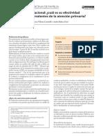 cuál es su efectividad en problemas prevalentes de la atención primaria...pdf