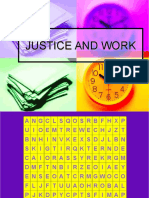 Justice and Work Demo
